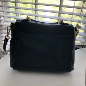 Coach Bags - Coach Black Leather Top Handle Crossbody